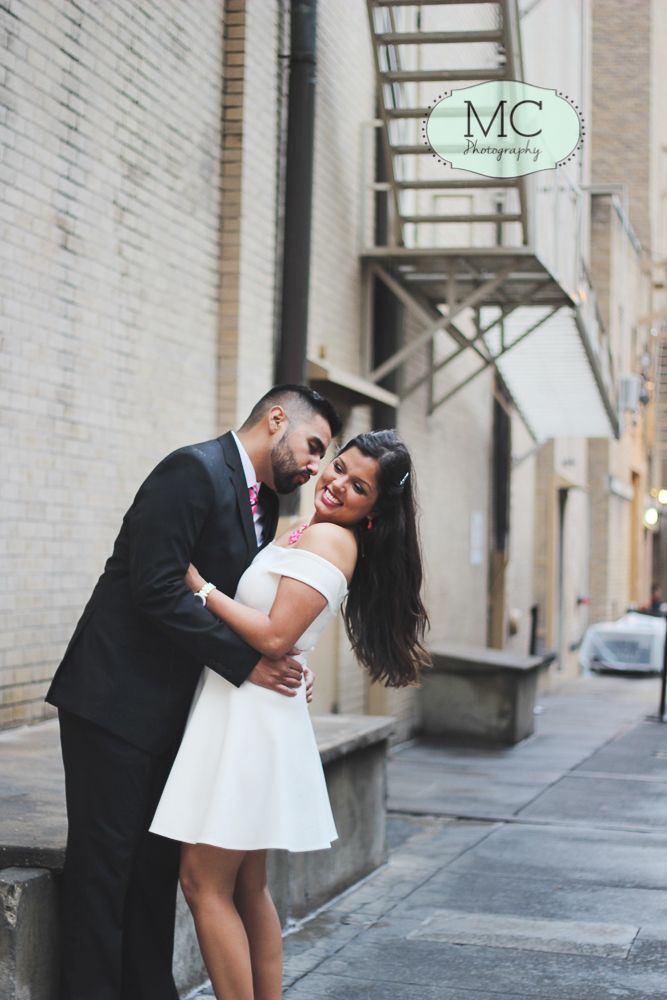 san antonio downtown engagement photography