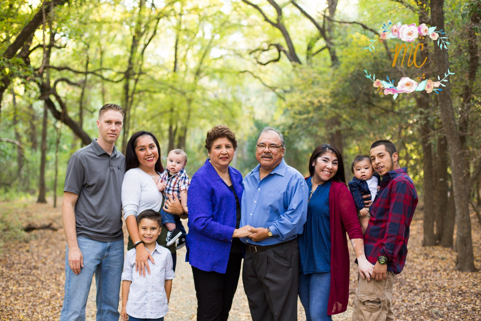fall family session san antonio